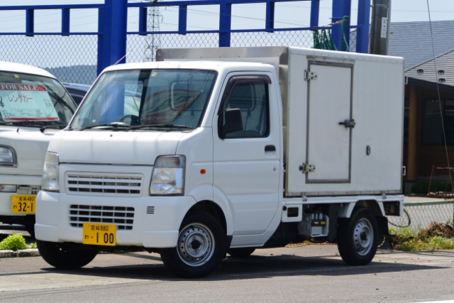 冷蔵冷凍車 キャリィトラック(MT) -20℃~20℃